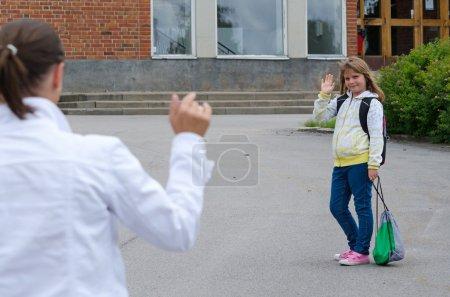 Bye bye mama