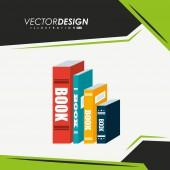 Kniha design ikony