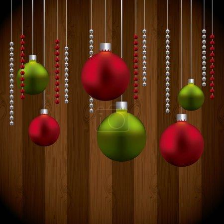 spheres icon. Merry Christmas design.