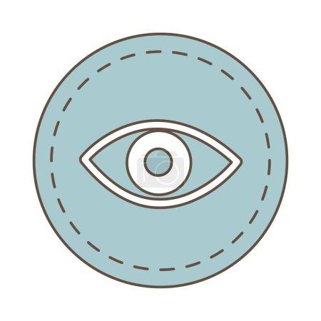 eye view seal stamp