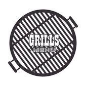 grills menu beef beer design isolated