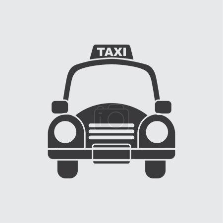 Illustration pour Design icône de taxi, illustration vectorielle - image libre de droit