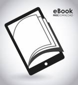 Ebook graphic design  vector illustration
