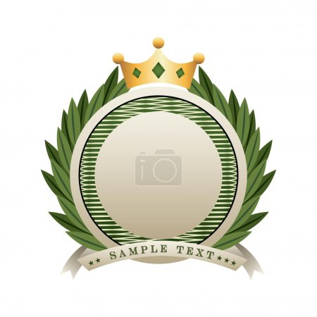 Illustration for Certificate design , vector illustration - Royalty Free Image