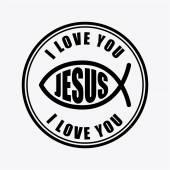 Jesus christ design vector illustration eps10 graphic