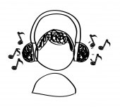 Hudba, kreslení