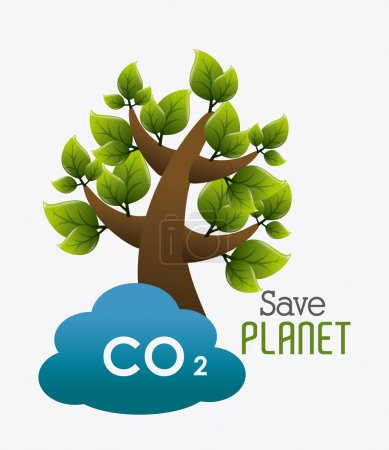 Ecology design illustration