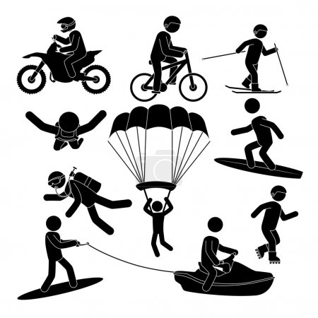 Extreme sports design.