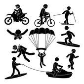 Extreme sports design
