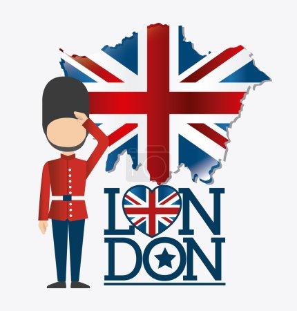 London design illustration
