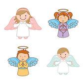 Cute angels design vector illustration eps10 graphic