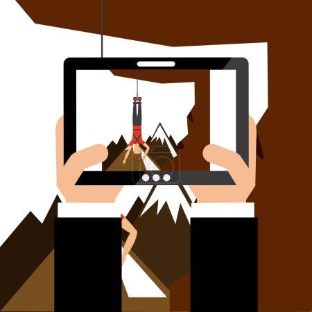 Illustration pour Photographie concept design, illustration vectorielle eps10 graphique - image libre de droit