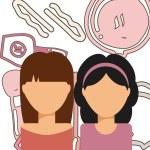 Beauty salon design, vector illustration eps10 gra...
