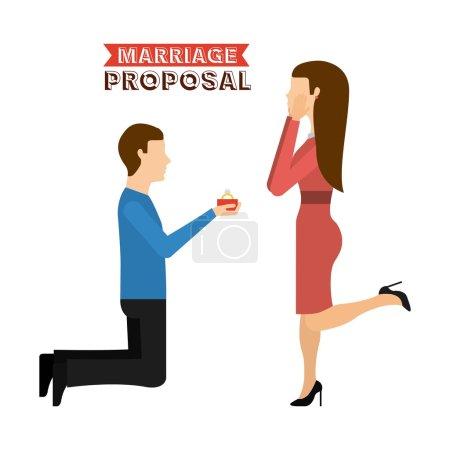 conception de proposition de mariage