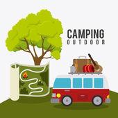 Camping, cestování a dovolená