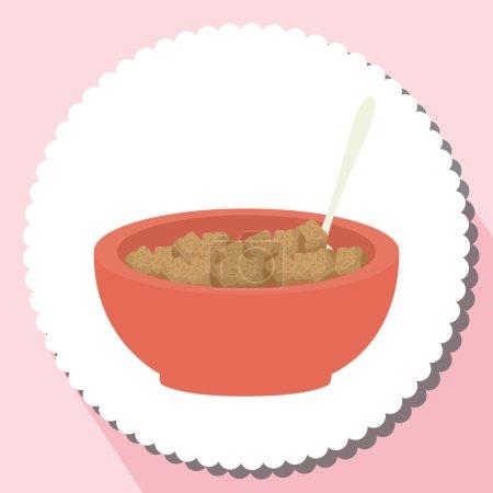 Illustration pour Délicieux design alimentaire, illustration vectorielle eps10 graphique - image libre de droit