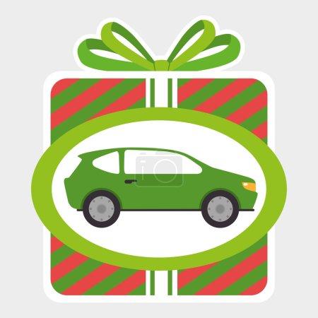 Illustration pour Acheter ou louer une entreprise automobile, illustration vectorielle graphisme . - image libre de droit