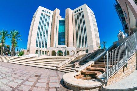 Palace of Justice in Beersheba, Israel.