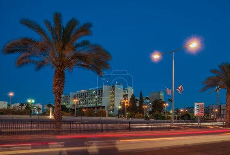 "Beer-Sheva, the central street name Ruger, hospital complex ""For"