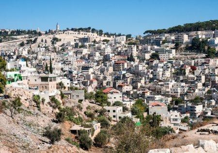 Arabic quarter of Silwan in East Jerusalem.