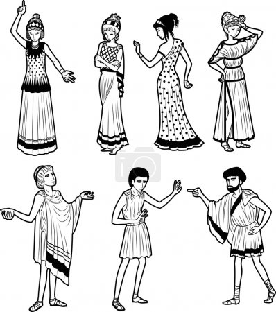 Ancient Greek tragedy characters