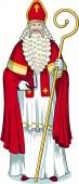 Christmas Character Sinterklaas colored