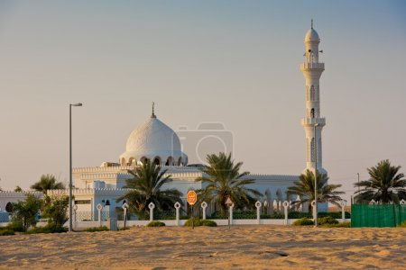 Mosque in Liwa oasis