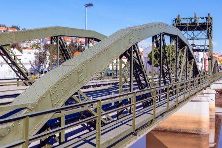 Bridge over Sado river.