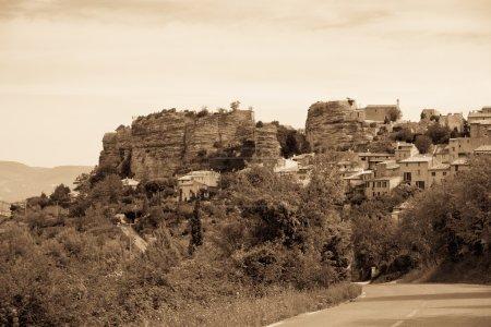 Saignon village view in Provence