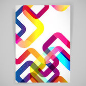 Abstract background with rounded design elements
