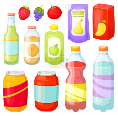 Drinks bottle set