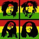 Постер, плакат: Bob Marley portrait
