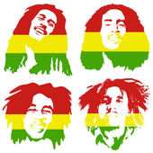Bob Marley Graffiti portrait of Bob Marley set Illustrative editorial drawing famous Jamaican reggae singer songwriter and guitarist Bob Marley The iconic singer Bob Marley wallpaper poster