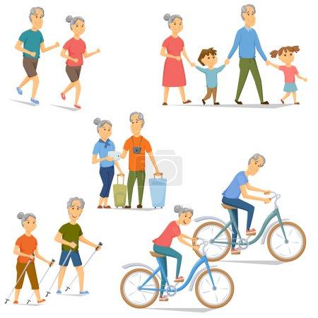 Senioren Freizeit und Aktivität