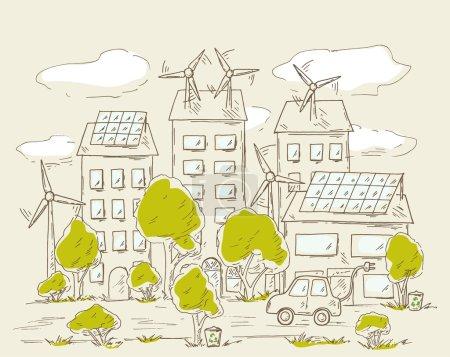 Green city energy