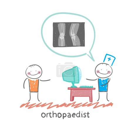 Orthopaedist tells  about an x-ray