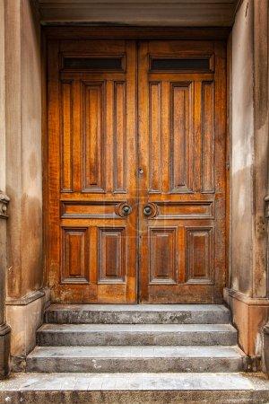 Traditional wooden door