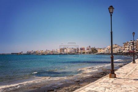 Lerapetra promenade Crete