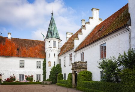 Bosjokloster monastery courtyard