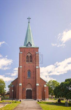 Rya church steeple