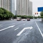 The century avenue of street scene in shanghai Luj...