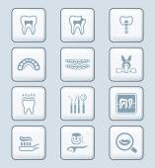 Dental icons - TECH series