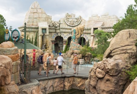 Poseidons Fury show at  Universal Studios Islands of Adventur