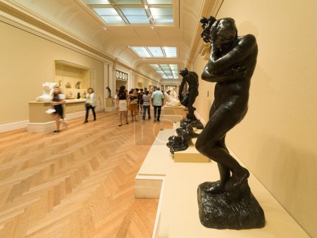 Auguste Rodin sculptures at The Met museum in New York