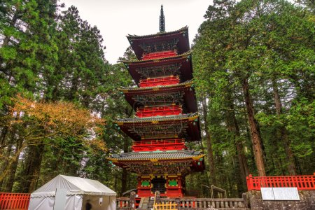 Toshogu Pagoda, Nikko, Japan.