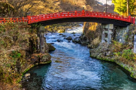 Nikko sacred Bridge, Japan.