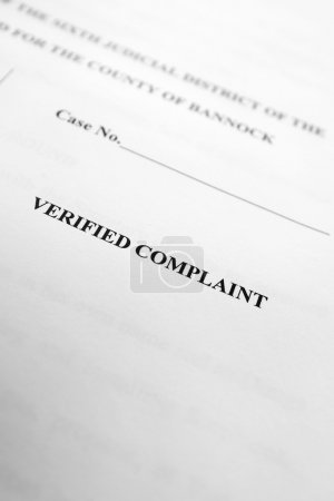 Legal Papers Verified Complaint