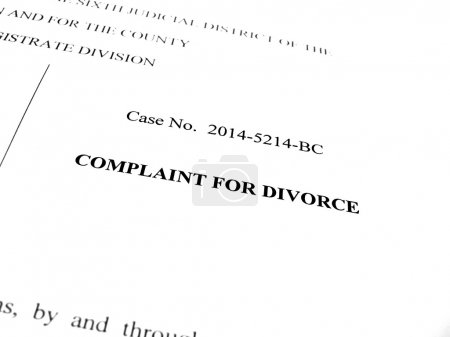 Complaint for Divorce