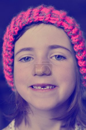 Instagram Little Girl Hipster Missing Front Tooth