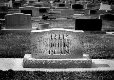 Grave for 401k Plan